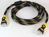 Кабель HDMI-HDMI 1,5 m феррит(ver1.4)