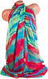 Женский яркий шарф из шифона 184 на 105 см. ETERNO (ЭТЕРНО) P-P-56, фото 2
