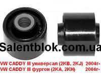 Втулка амортизатора Volkswagen Caddy (НИЖНЯЯ d=12mm)