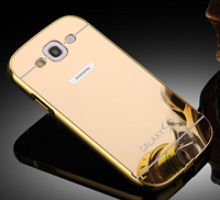 Чехол для Samsung S3 i9300 золотой зеркальный акрил, фото 1