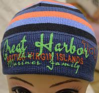 Полушерстяная детская шапочка с надписью, фото 1