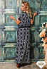 Женское длинное платье разные расцветки, фото 3