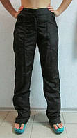 Женские спортивные штаны ADIDAS (657) черные плащевка код 0103 Б