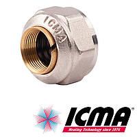 Icma 90 фитинг для медной трубы 15х1/2 SICURBLOC