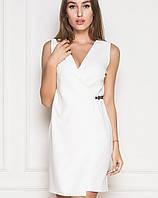 Женское летнее белое платье (2174 sk)