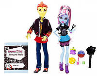 Набор кукол Monster High Home Ick Abbey Bominable Heath Burns