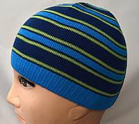 Стильная шапочка из тонкого трикотажа, фото 1