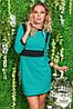 Женское платье дайвинг разные расцветки, фото 5