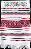 Свадебный вышитый рушник | Весільний вишитий рушник Калина 1,9 м, фото 1