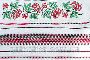 Свадебный вышитый рушник | Весільний вишитий рушник Калина 1,9 м, фото 3