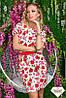 Женское платье креп разные расцветки , фото 2