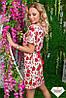 Женское платье креп разные расцветки , фото 5