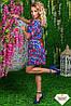 Женское платье креп разные расцветки , фото 8