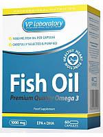VP Lab Рыбий жир Fish Oil Premium Quality Omega 3 (60 caps)