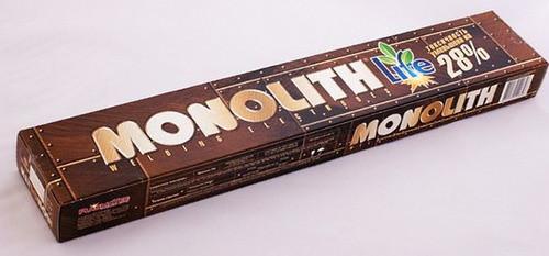 Електроди Моноліт РЦ TM Monolith д.3 мм Упаковка 2,5 кг.