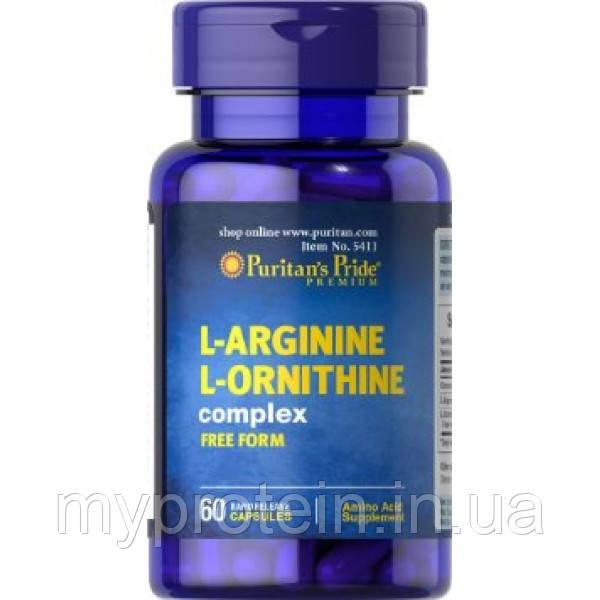 Л-аргинин л-орнитин комплекс L-Arginine L-Ornithine complex (60 caps)