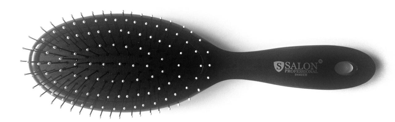 Массажная щётка для волос Salon, овальная, (180 мм/55 мм)