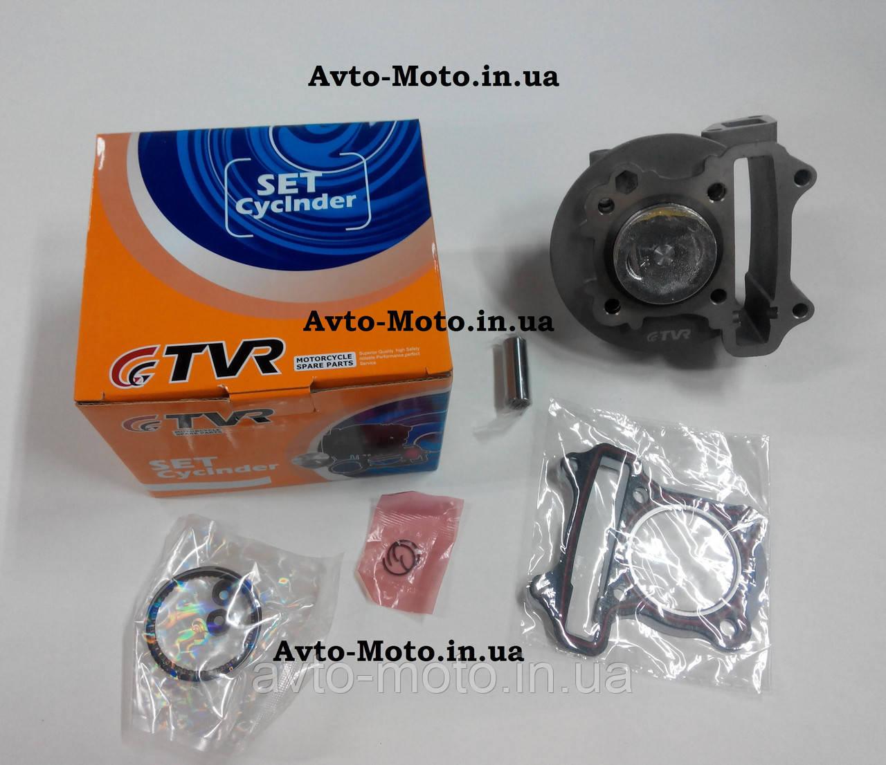 Поршневая скутера в сборе GY6-60  диам 44 мм TVR