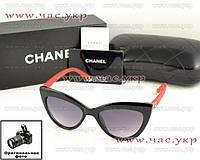 Солнцезащитные очки Chanel кошачий глаз новая модель классика качество ААА