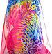 Женский замечательный шарф из шифона 200 на 144 см. ETERNO (ЭТЕРНО) P-P-52, фото 3