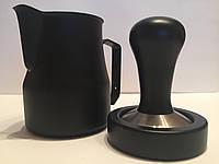 Питчер Motta Professionale 350мл (черный)