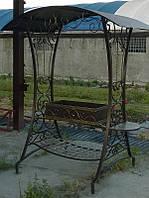Мангал стационарный кованый