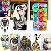 Силиконовые чехлы с рисунками для Samsung Galaxy Win i8552