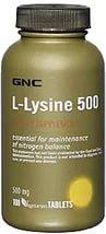 Лизин L-lysine 500 (100 tabl)