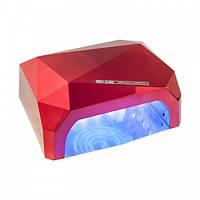 Гибридная светодиодная CCFL + LED лампа с таймером, 36 W