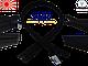 Блискавка спіраль YKK 70cm 580 чорна 1бегунок разьемная, фото 2