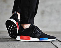Мужские кроссовки Adidas NMD Runner PK Core Black(Копия)