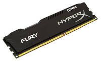 Оперативная память HyperX 8GB [DDR4 2400MHz Cl15 Fury Black]