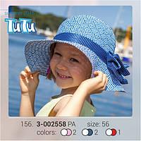 Стильная шляпа для девочки TuTu арт. 3-002558 56