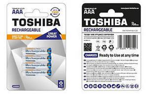 Акумулятор Toshiba R03 (750 mAh) Ni-MH