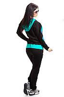 Спортивный костюм с цветной вставкой от 44 – по 50й
