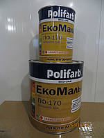 Лак Экомаль Полифарб ПФ-170 2,7 кг