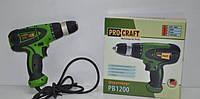 Шуруповерт Pro Craft PB1200