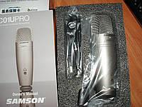 Samson C01U Pro USB Studio микрофон студийный суперкардиоида конденсаторный для подкастов