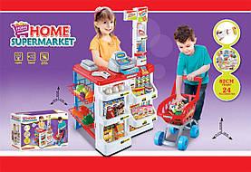 Детский супермаркет с тележкой 668-01