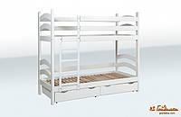 Ліжко двоярусне «Модерн» з шухлядами