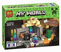 Конструктор Minecraft 10390 BELA