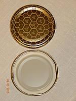 Крышка закаточная твист-офф размер 66 мм соты, фото 1
