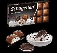 Шоколад Schogetten Black & White (Чорний і Білий) - 100 г.