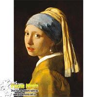Пазл Ravensburger - Вермеер, Девушка с жемчужной сережкой (Vermeer, Girl with a Pearl Earring)