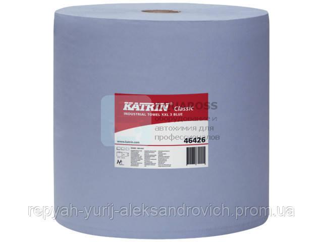 Папір протиральна Katrin Classic XXL 3 Blue 500 відривів