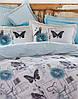 Комплект постельного белья karaca home ранфорс размер полуторный birdy