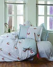 Комплект постельного белья karaca home ранфорс размер полуторный alisse