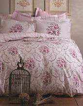 Комплект постельного белья karaca home ранфорс размер полуторный edie пудра