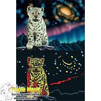 Пазл Ravensburger - Шиммель, Белый тигр (светится в темноте) (Schimmel, Tigerbaby)