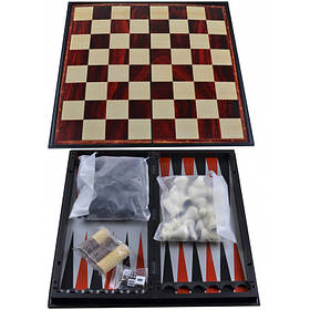 Игра магнитная Нарды, Шахматы, Шашки 3 в 1 37710